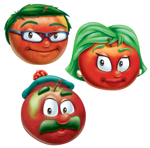 Apple Characters