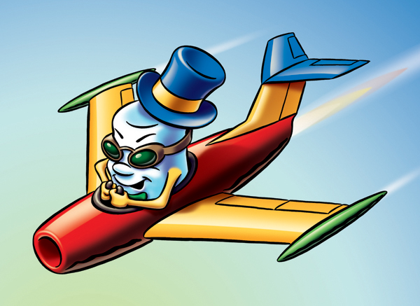 Jet Puf Character